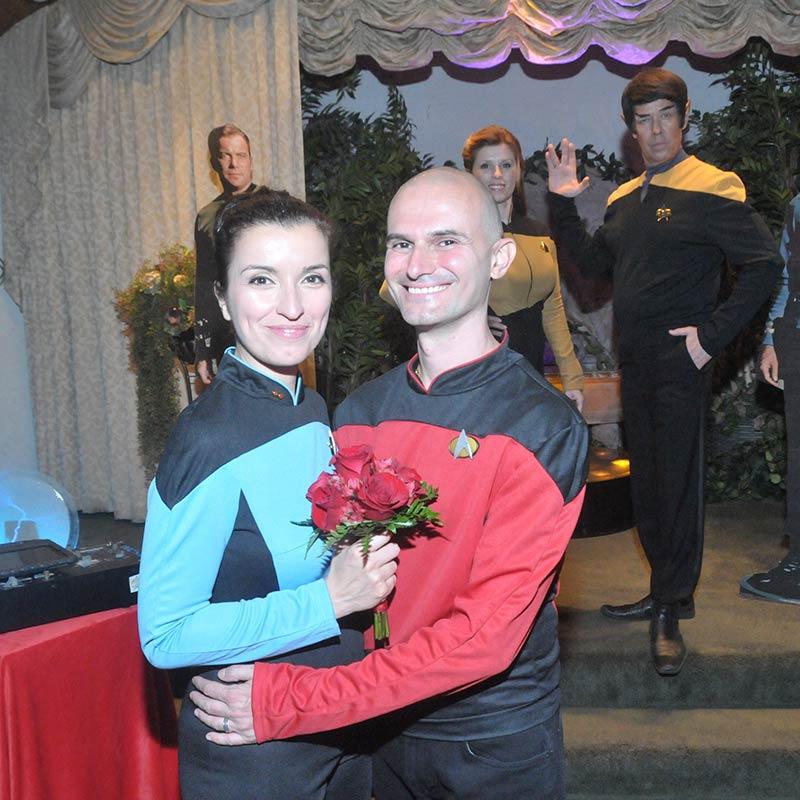 Wedding In Vegas.Intergalactic
